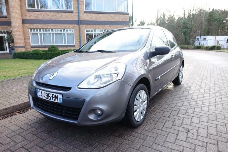 2012 Renault clio 1.5 dci 2 seater left hand drive lhd French Reg