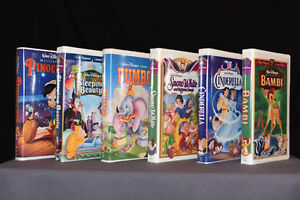 Disney VHS Classics & Masterpiece Collection