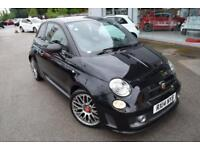 2014 Abarth 500 1.4 T-Jet Competizione 3dr Petrol black Manual