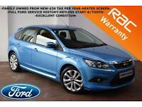 2011 Ford Focus 1.6TDCi 110BHP Zetec S -FULL FORD SERVICE HISTORY-BLUETOOTH-