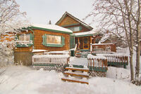 WATERFRONT LOG HOME FOR SALE IN SLAVE LAKE AREA ~ 97 BEACH ROAD