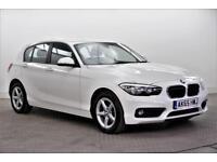 2015 BMW 1 Series 116D SE Diesel white Manual