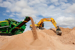 Mobile soil screen/ land clearing