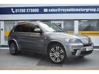 GOOD CREDIT CAR FINANCE AVAILABLE 2011 61 BMW X5 4.0d M SPORT 7 SEATER