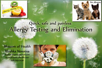 Allergy Testing and Elimination