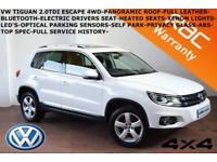 2012 Volkswagen Tiguan 2.0TDI (140ps) (4WD) BlueMotion Tech (s/s) Escape-F.S.H-