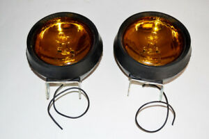 2 brand new Grote Amber Farm Construction Waterproof Lights