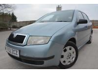 SKODA FABIA CLASSIC 1.4 5 DOOR*LOW MILEAGE*ONE LADY OWNER*FULL SERVICE HISTORY*