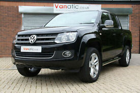 2017/66 Volkswagen Amarok Highline 4Motion 8 Speed AUTO Double Cab 180PS