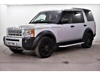 2008 Land Rover Discovery 3 TDV6 SE Diesel silver Automatic