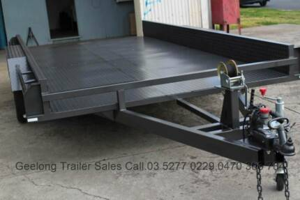 14x6'6 Brand New Tandem Trailer Car Carrier @1990 Kg GVM North Geelong Geelong City Preview