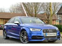 2014 Audi S3 2.0 TFSI S TRONIC QUATTRO BLUE WINGBACK SEATS SALOON *MEGA EXTRAS**