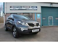 2013 Kia Sportage KX-4 2.0 CRDI 190ps Diesel grey Manual