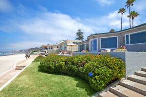 La Jolla beachfront home 3 Bed, 2,529 sqft
