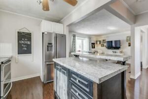 WOW! ABSOLUTELY STUNNING BUNGALOW ON A 50 FT LOT IN PRIME AJAX!