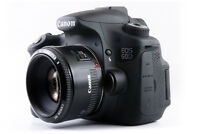 canon 60d with 50mm