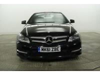2012 Mercedes-Benz C Class C250 CDI BLUEEFFICIENCY AMG SPORT Diesel black Automa
