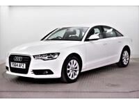 2014 Audi A6 TDI ULTRA SE Diesel white Manual
