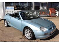 TROPHY CARS MGTF MGF SE,BLACK LEATHER,50K,GOOD CONDITION,RAC WARRANTY.