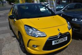 2013 13 CITROEN DS3 1.6THP 155 D SPORT GOOD AND BAD CREDIT CAR FINANCE AVAILABLE