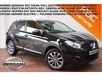 2010 Nissan Qashqai 1.5dCi Tekna-HEATED LEATHER-BOSE-REV CAMERA-B.TOOTH-XENONS-