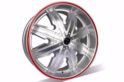 $175 EACH! Brand NEW 20X8.5wheels suits Ford Holden Honda Toyota