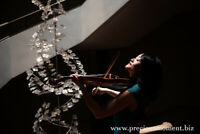 professional  violinist for events/holiday surprises