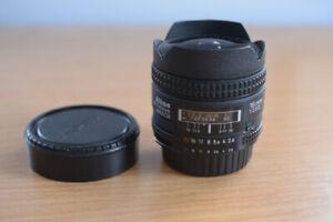 Nikon AFD 16mm f/2.8 Fisheye