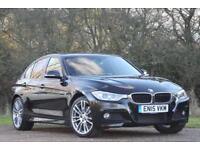 BMW 320 2.0TD ( 184bhp ) ( s/s ) Auto 2015MY d xDrive M Sport