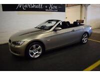 2008 08 BMW 3 SERIES 2.0 320I SE 2D 168 BHP CONVERTIBLE