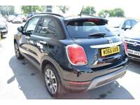 2017 Fiat 500X 1.6 MultiJet Cross (s/s) 5dr Diesel black Manual