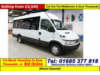 2006 - 06 - IVECO DAILY 50C14 3.0HPI 14 SEAT DISABLED ACCESS MINIBUS GUIDE PRICE