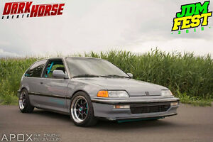 1990 Honda Civic si showroom