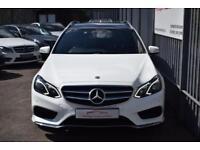 2014 Mercedes-Benz E Class E250 Estate 2.1CDi 204 SS AMG Sport 7GT+ Diesel white