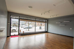 Salmon Arm - 1259 sqft storefront retail space for lease/sale