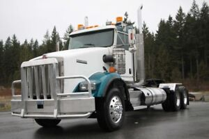 2013 Kenworth T800 Heavy Spec, Ext Daycab, 18 Spd, Lockers