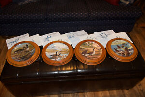 DOMINION CHINA LIMITED EDITION COLLECTABLE PLATES