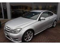 Mercedes C180 BLUEEFFICIENCY AMG SPORT. VAT QUALIFYING