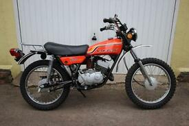 1971 Kawasaki G4TR 100cc 2-Stroke. Fore Runner to the KE-100.