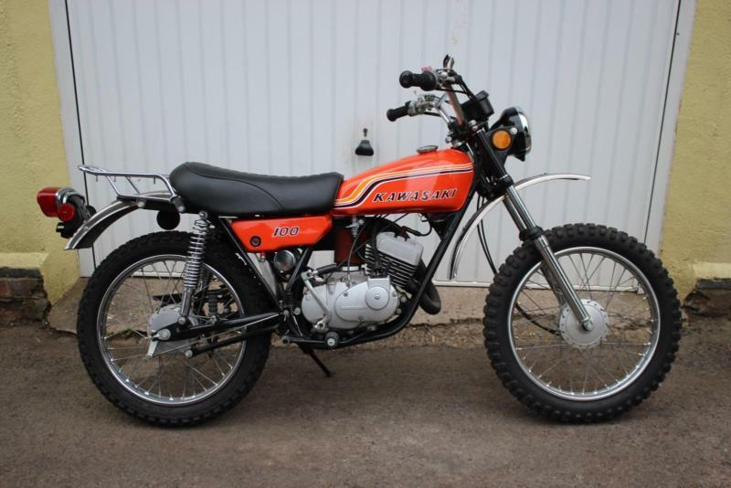 1971 Kawasaki G4TR 100cc 2-Stroke. Fore Runner to the KE-100. | in