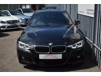 2016 BMW 3 Series 320 Saloon 2.0d 190 SS M Sport A8 Diesel black Automatic