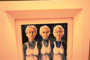 A PAIR OF KRIS ENGSTROM ORIGINALS THE GIRLS & THE GIRLS ARE GONE Moose Jaw Regina Area image 2