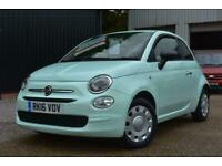 2016(16) Fiat 500 1.2 POP 3dr, Petrol, 1 Owner, Low Miles, £20 Rd Tax