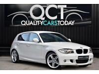 BMW 123D M Sport Auto *Alpine White + Heated Leather + Premium Audio etc