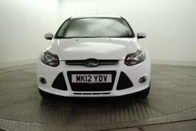 2012 Ford Focus ZETEC Petrol white Manual