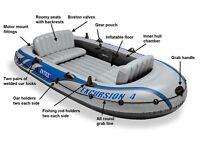 Intex 4 person boat