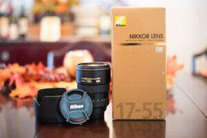 For Sale - mint Nikon 17-55mm F2.8 lens for $600 FIRM