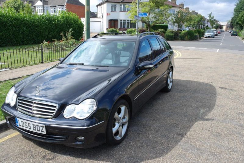 2006 mercedes benz c320 3 0 cdi 7g tronic avantgarde se estate leather sat nav in barking. Black Bedroom Furniture Sets. Home Design Ideas