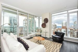Vancouver Downtown/NewCond 2 Beds 2 B Parking /Water View/