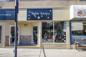 Salmon Arm - Sewing Business for Sale